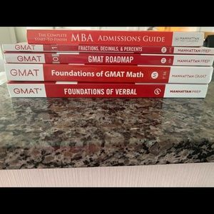 5th and 6th edition manhattan gmat prep books